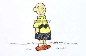 нарисовать пошагово мальчика Чарли карандашом, рисунок  мальчика, контурный рисунок,  цветной