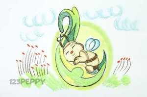 нарисовать пошагово маленькую пчелку карандашом, рисунок  маленькой пчелы, контурный рисунок,  цветной