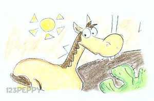 нарисовать пошагово лошадь, коня карандашом, рисунок  коня, лошади, контурный рисунок,  цветной