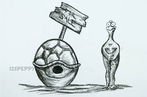 нарисовать пошагово смешную черепаху без панцыря карандашом, рисунок  черепахи без панцыря, контурный рисунок,  черно- белый