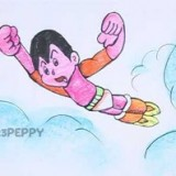 летящего мальчика