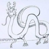 китайского дракона