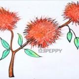 Как нарисовать хвощ