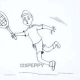 игру в теннис