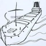 грузовой корабль, баржу