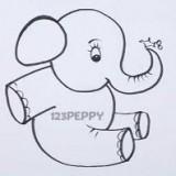 маленького слоненка