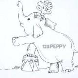 циркового слоненка