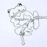 кубинскую лягушку