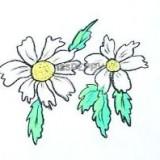 простой цветок