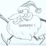 смешного Деда Мороза