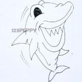 весёлую акулу