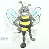 злую пчелу