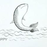 прыгающую рыбку