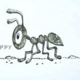 муравья из мультфильма