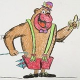 гориллу из мультфильма