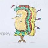 веселый сэндвич