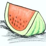 ломтик арбуза