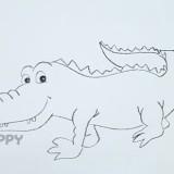 простого крокодила