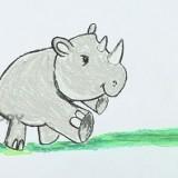 маленького носорога