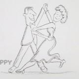 танцующую пару