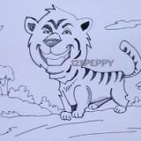 веселого тигра