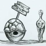 смешную черепаху без панцыря