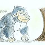 гориллу