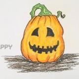 тыкву для Хэллоуина