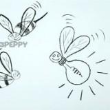 забавную пчелку ошибку