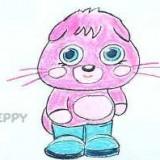 розового котенка
