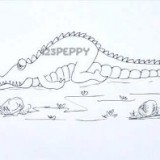 грустного крокодила