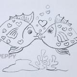 влюблённых рыбок