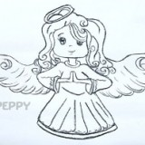 девочку ангела