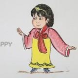 японскую девушку