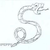 узорную змею