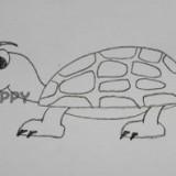 черепаху